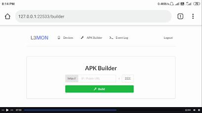 l3mon apk builder