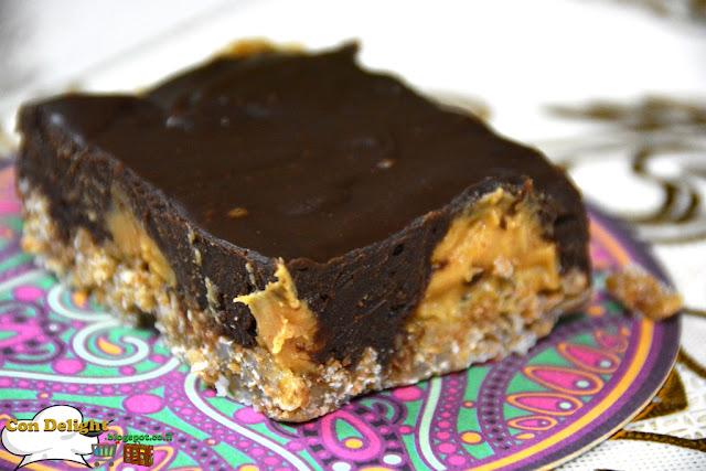 chocolate peanut butter bar