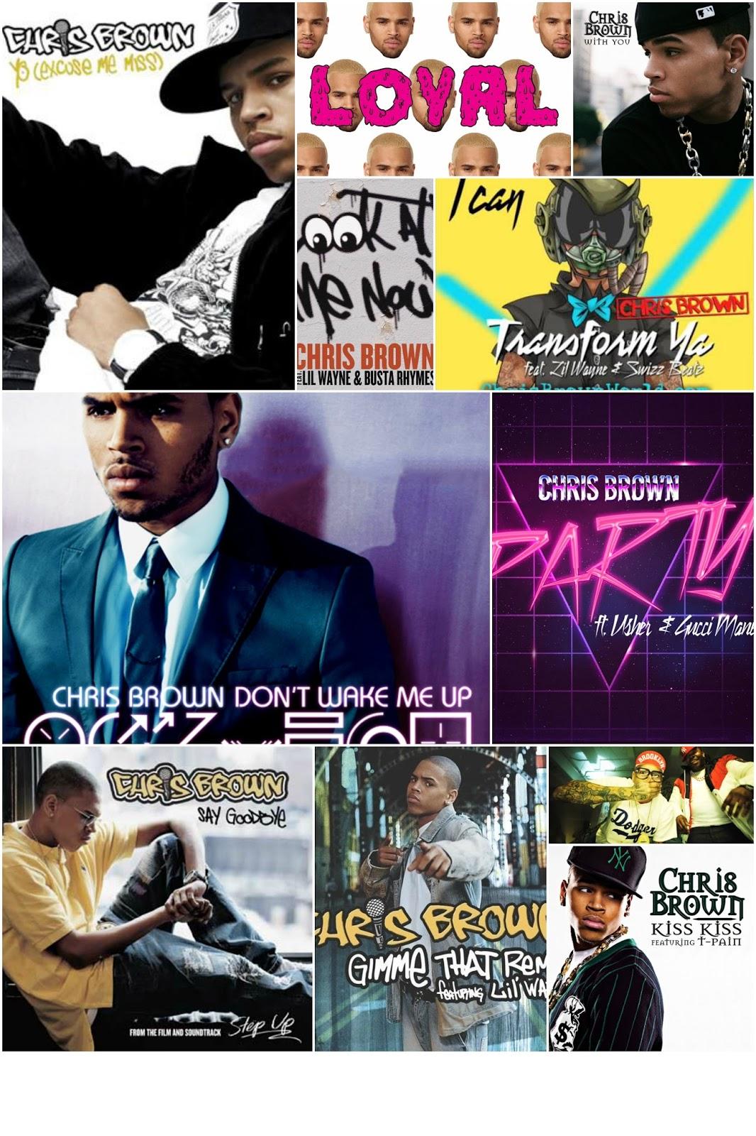Kerin's Korner: Kerin's Top Ten: Chris Brown Songs
