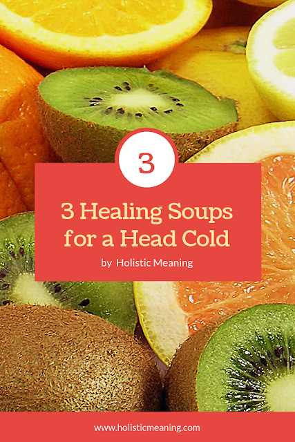 3 Healing Soups for a Head Cold