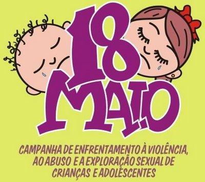 4ff68182a2f2 18 de maio: Dia Nacional de Combate a Exploração Sexual de Crianças