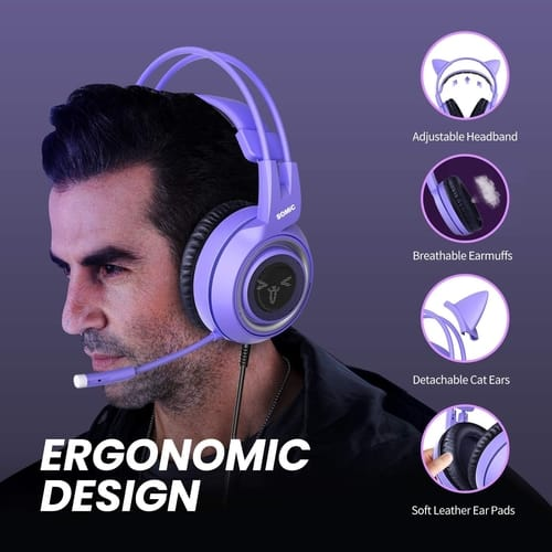 Review SOMIC G951S Purple Stereo Gaming Headset
