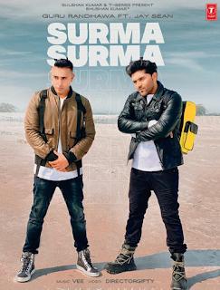 Surma Surma Lyrics - Guru Randhawa ft. Jay Sean