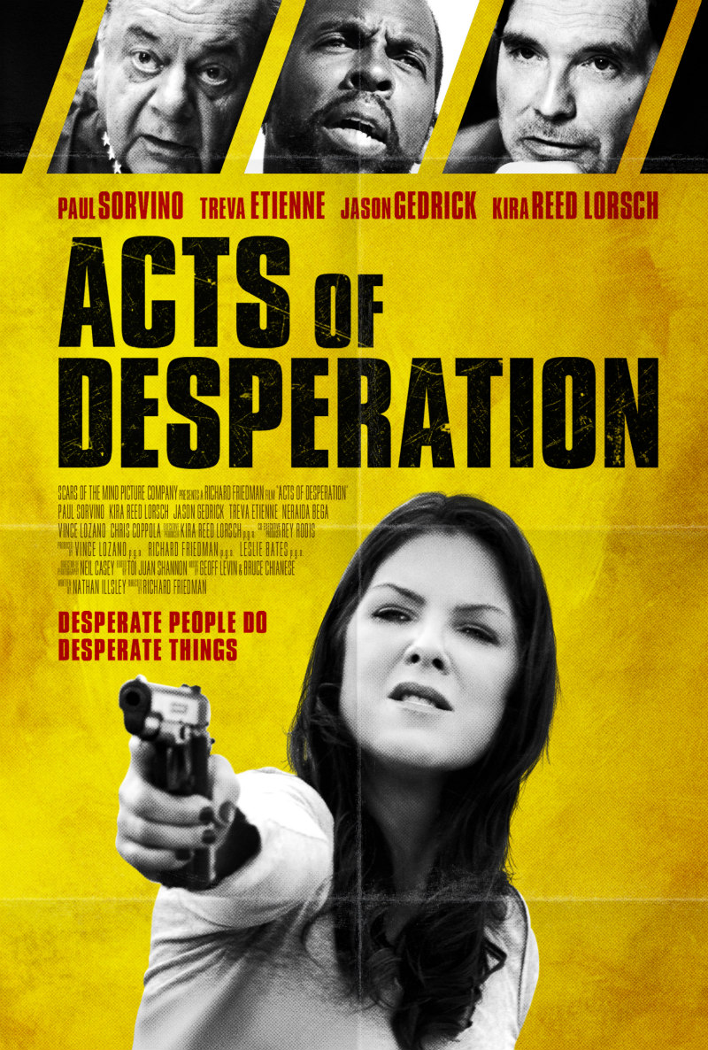acts of desperation poster