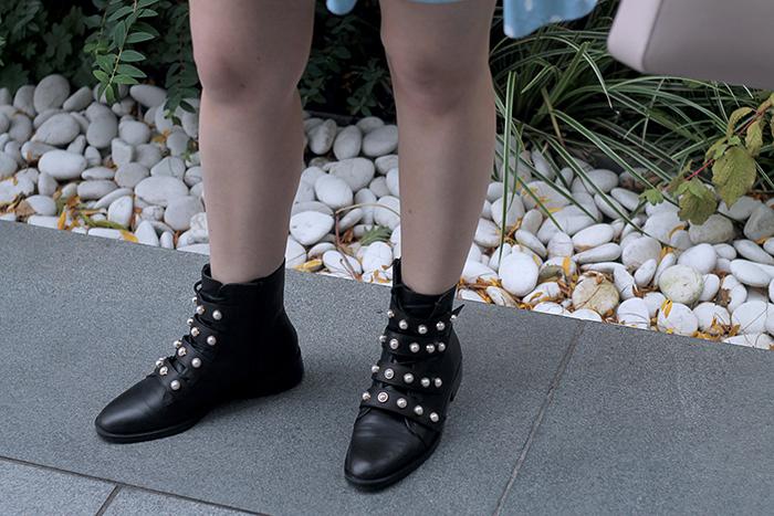 botas de perlas
