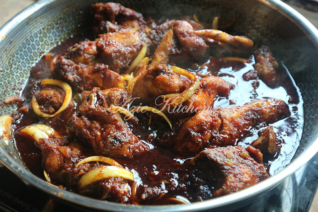 Ayam Masak Kicap Yang Pasti Menjadi Kesukaan Famili