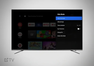 OnePlus TV Update 'OTA 5' Introduces Data Saver Plus, Kids Mode, Included Storage Expansion Again