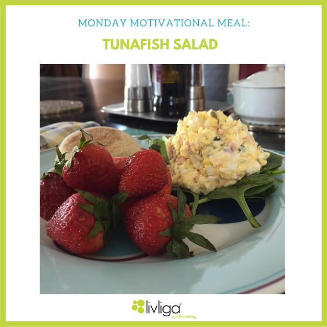 Monday Motivational Meal - Tunafish Salad