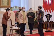 Libatkan Banyak UMKM, Jokowi katakan Kebangkitan Industri Otomotif Harus Terus Dijaga