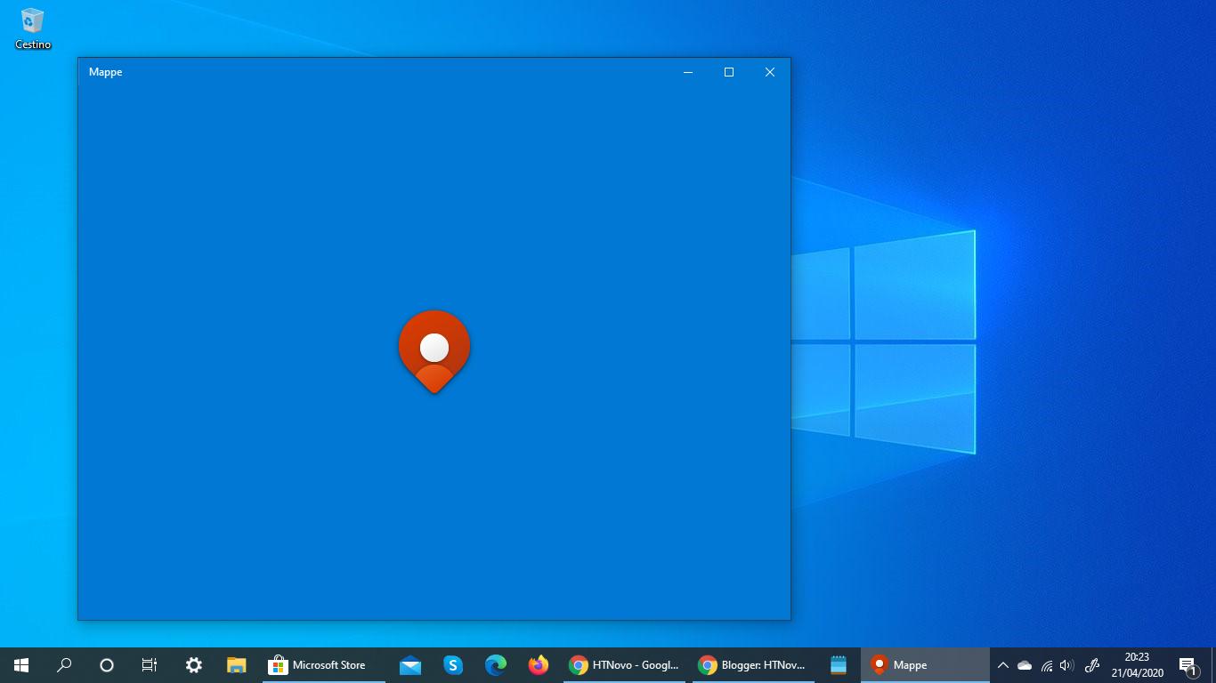 Anche Mappe ottiene la nuova icona Fluent in Windows 10