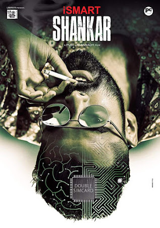 Poster Of iSmart Shankar In Dual Audio Hindi Telugu 300MB Compressed Small Size Pc Movie Free Download Only At worldfree4u.com