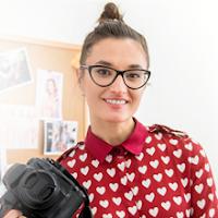 """Fotografka, uczestniczka promocji """"Plus na ZUS"""" za Konto Firma+ w Idea Banku"""
