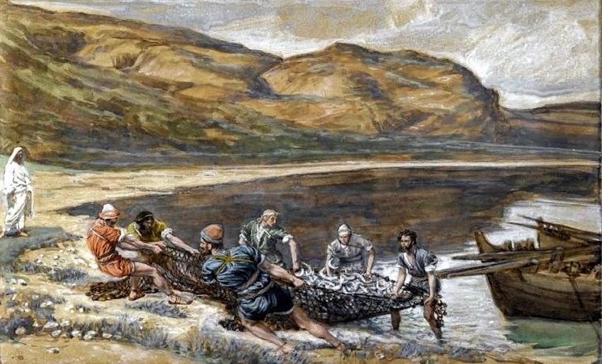 La pesca milagrosa (Juan 21:1-14)