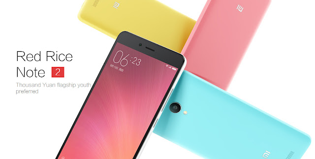 Xiaomi Redmi Note 2 Spesifications - Inetversal