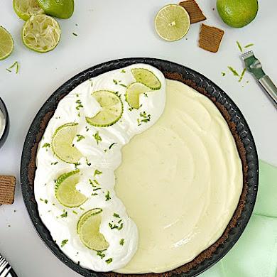 Recette de Tarte Sans Cuisson au Citron Vert et Speculoos
