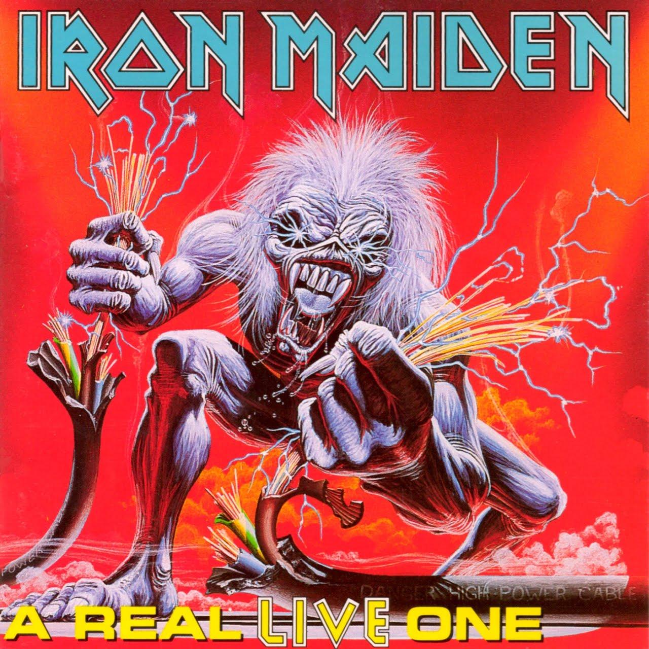Rock & Metal Discografias: Iron Maiden
