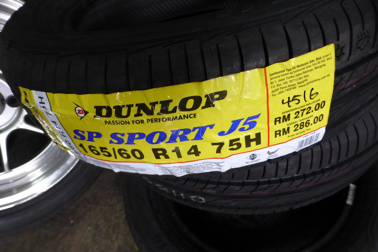 It s a relatively fresh week 45 2016 tyres with threadwear 340 temperature a traction a