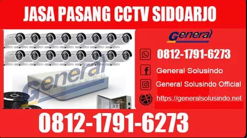Jasa Pemasangan CCTV di Sidoarjo Murah dan Bergaransi