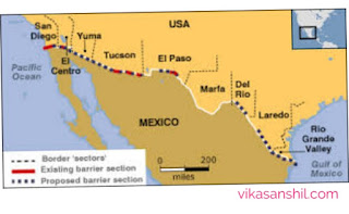 US Mexico border wall Images