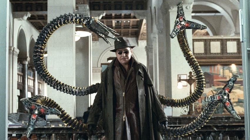 В кинокомиксе «Человек-паук 3» вернутся все Спайдермены и Доктор Осьминог в исполнении Альфреда Молины