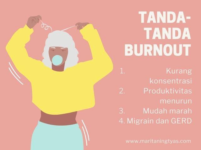 tanda-tanda alami burnout