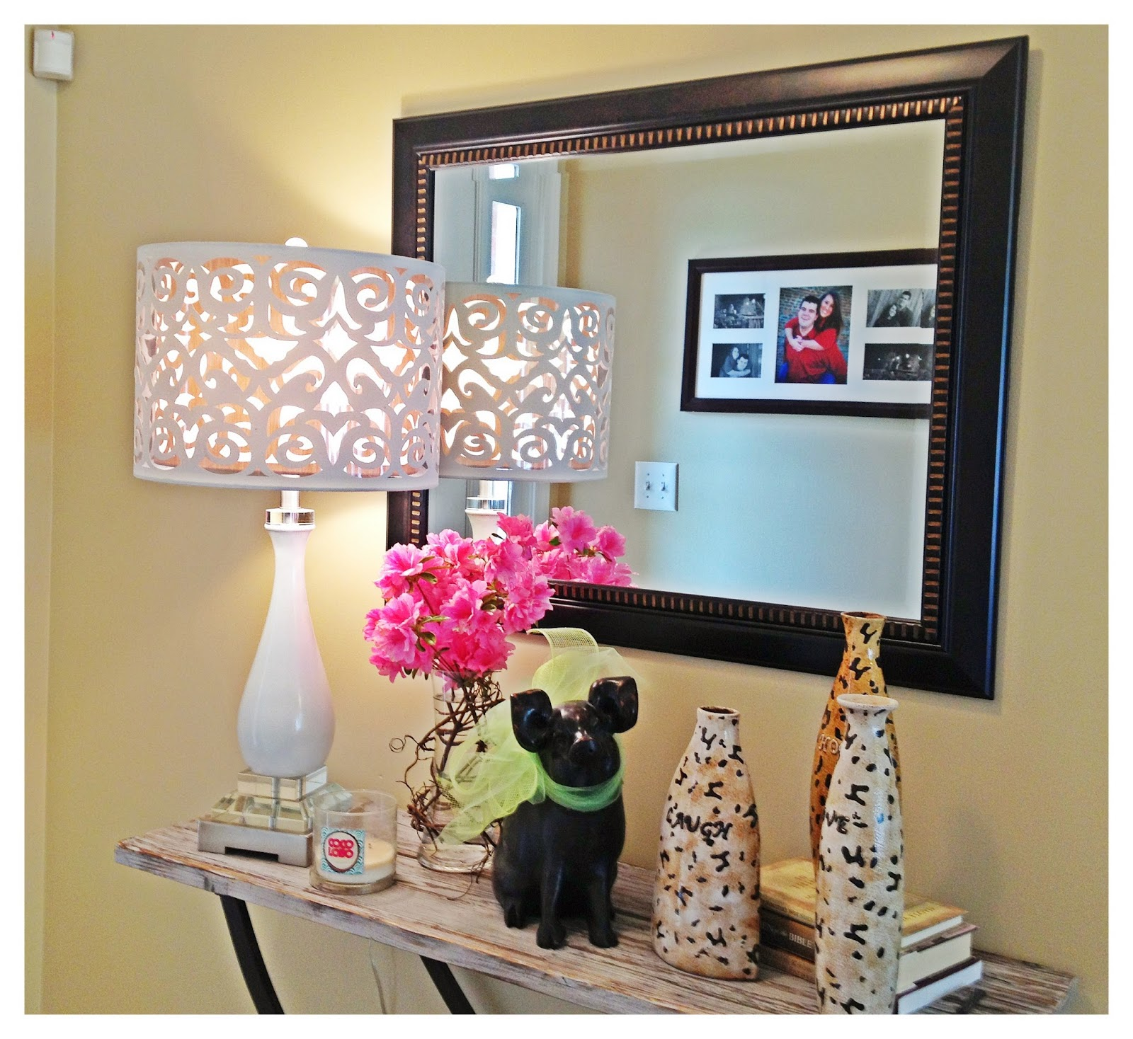 Southern House Restoration: How to Decorate Your Console Table