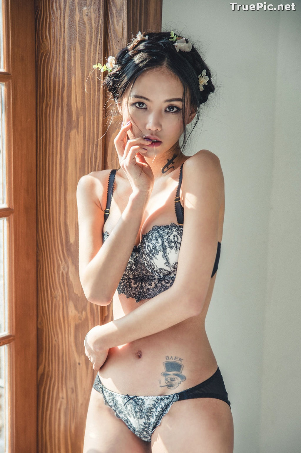 Image Korean Fashion Model – Baek Ye Jin – Sexy Lingerie Collection #7 - TruePic.net - Picture-5