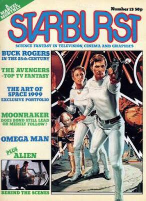 Starburst magazine #13, Buck Rogers