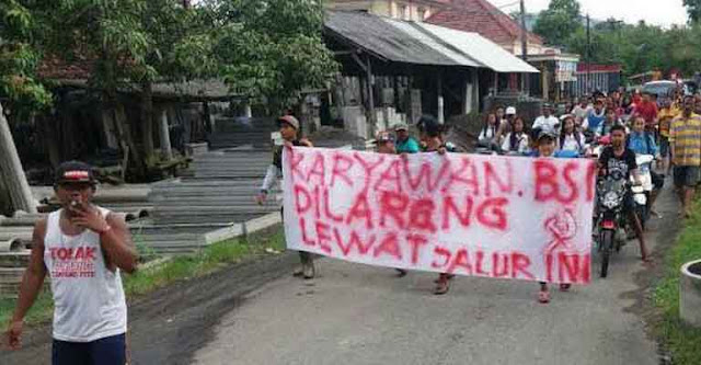 Demo berlambang Palu Arit di Bayuwangi, Ulama : Polisi harus tangkap dan dipenjarakan, titik!
