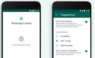 Cara Menggunakan Fingerprint di Whatsapp