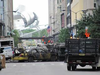 Fotos no oficiales del detrás de cámaras de Transformers 3.