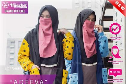 Hijacket Adeeva M fit L Ungu Kuning Biru Terbaru | HJ-ADV HIJACKET® ADEEVA