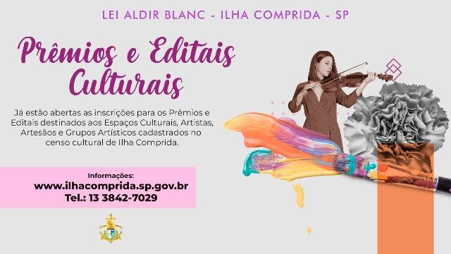 Cultura da Ilha lança chamada pública para seleção de ações e projetos  culturais candidatos aos recursos da lei Aldir Blanc