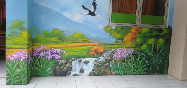 Lukis Dinding/ Mural Ruang Sekolah Dasar (Gerakan Sekolah Menyenangkan)