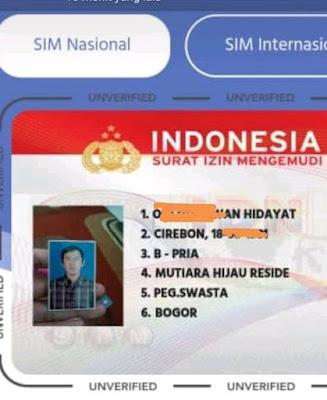 Syarat Perpanjang SIM C Online, Jangan Sampai Kirim Foto Seperti Ini !!!
