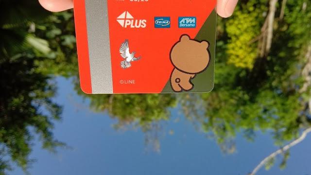 Kartu Debit Rekening LINE Bank