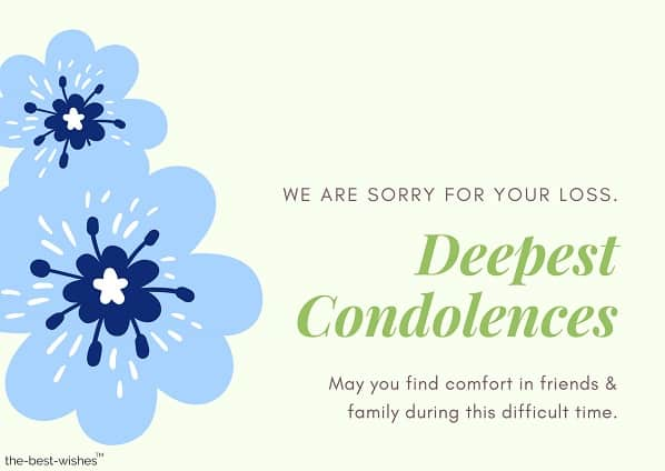 condolence messages loss of grandmother