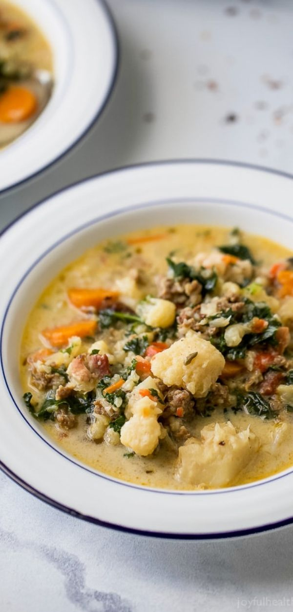 Low Carb Instant Pot Zuppa Toscana Soup