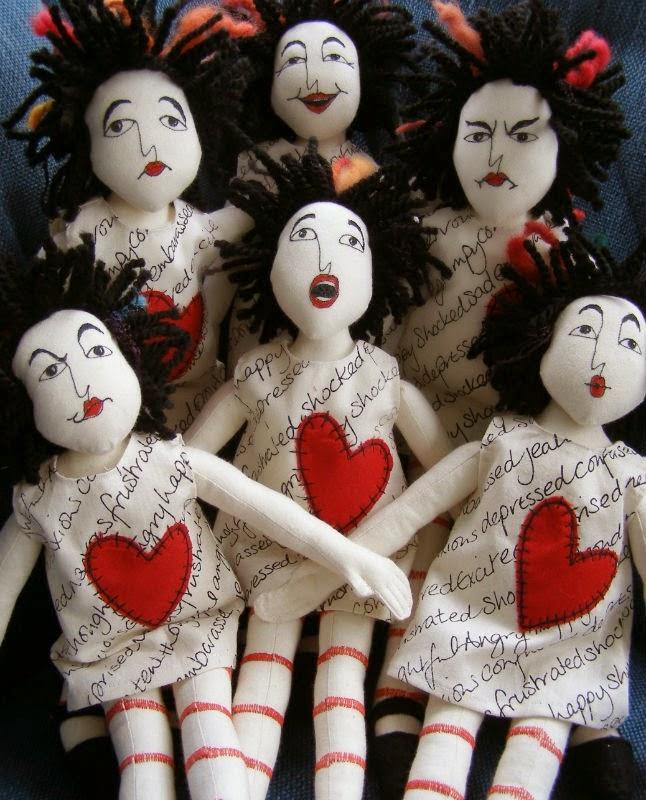 Dolls - facial expresssions