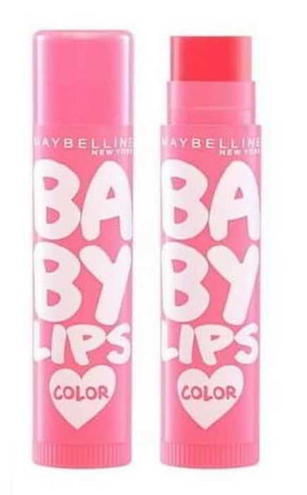 Review Maybelline Baby Lips Loves Color  Lips Balm Pink Lolita