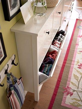 Armarios de poca profundidad en cualquier lugar de tu hogar