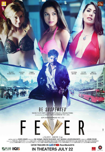 Poster Of Fever 2016 720p Hindi HDRip Full Movie Download