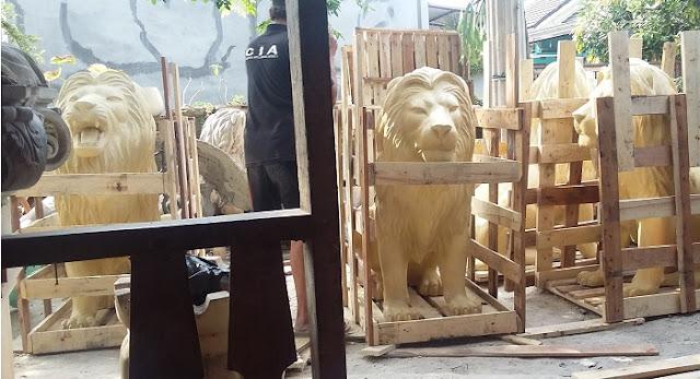gambar harga jual patung singa