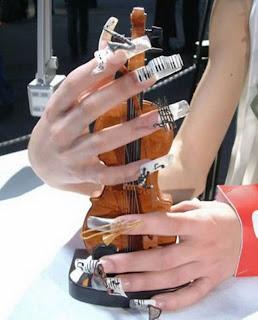 Diseño de uñas musicales