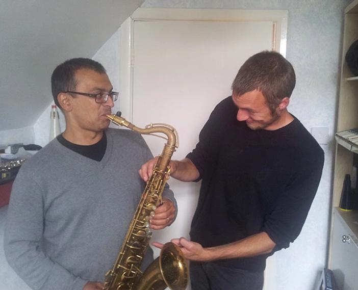 Simon D'souza y Theodor Waern.