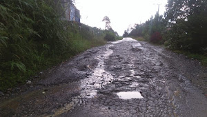 Jalan Rusak, Warga Bedeng Rejo Minta Diperbaiki