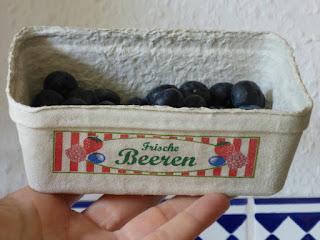 Obstschälchen aus Pappe