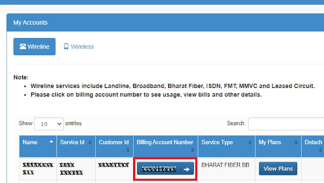Download your BSNL telephone bills online || How to download BSNL bills up to 1 year old through BSNL Selfcare Portal?