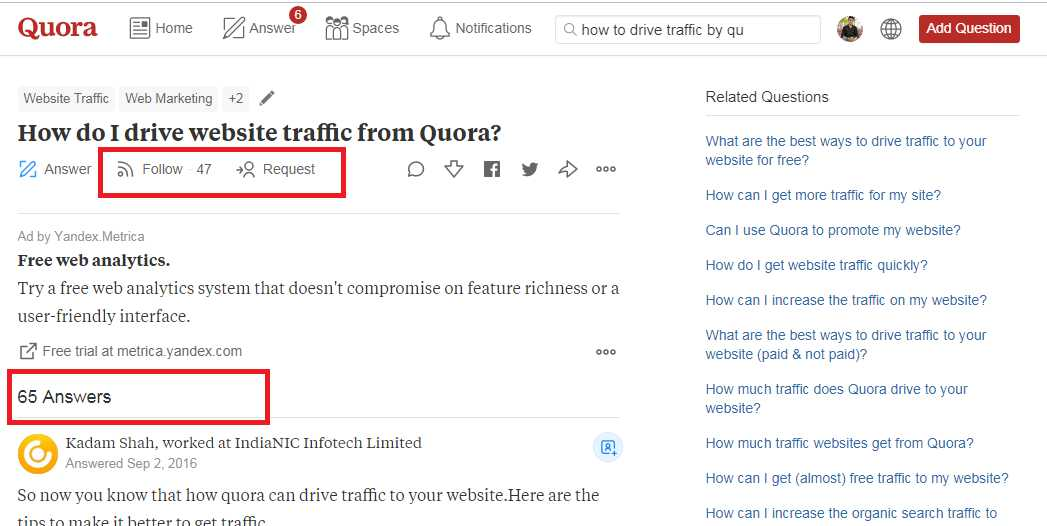 Increase Traffic to your website without SEO in 2019 - Quora