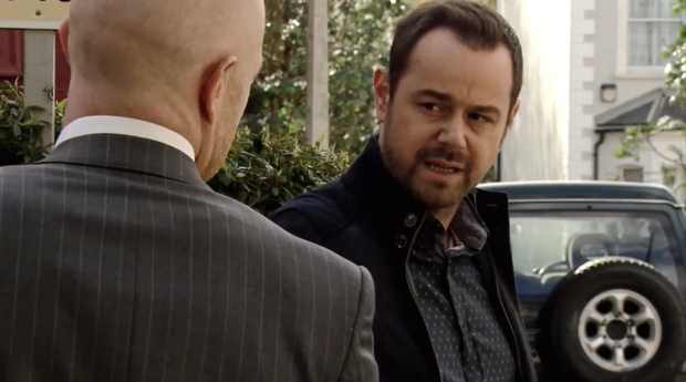 EastEnders Mick Carter confronts Max Branning